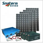 2000W Complete solar off grid home power system